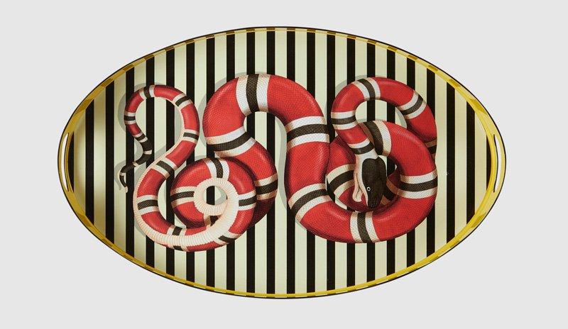 Gucci-kingsnake-oval-metal-tray