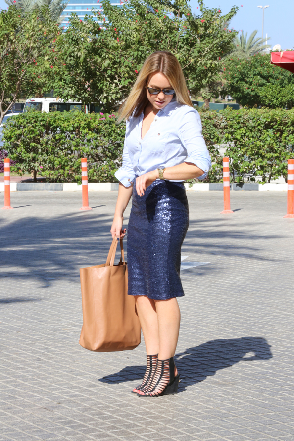 EW's wearing | New Take On Navy Blue