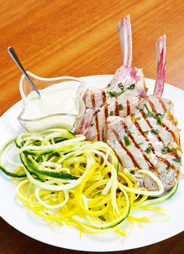 Seared Milk-Fed Veal Chops With Tarragon Mustard Sauce ...