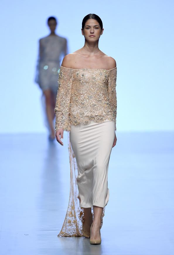Madiyah Al Sharqi Runway Fashion Forward Dubai October 2014 Emirates Woman