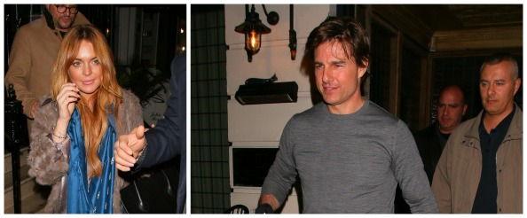 tom cruise dating lohan Representatives for lindsay lohan tell mailonline that there is absolutely 'no truth at all' to reports that emerged earlier this week that she is 'dating' tom cruise.