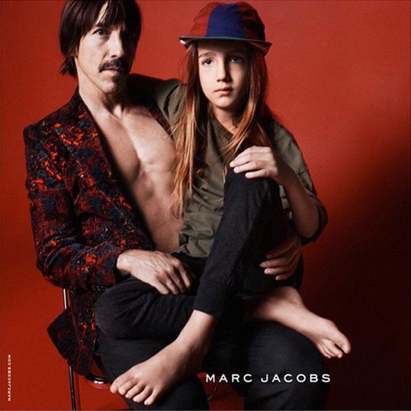marc jacobs, Anthony Kiedis