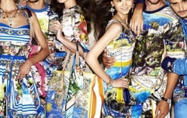 Net-a-porter.com Launches Exclusive #DGPortofino Collection By Dolce & Gabbana
