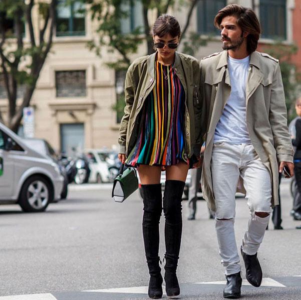 Milan Fashion Week Ss16 Street Style Emirates Woman