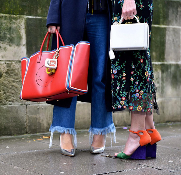 London Fashion Week Ss16 Street Style Emirates Woman