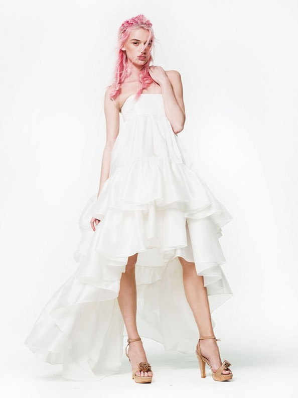 Bridal dresses for the rock n roll bride emirates woman for Rock n roll wedding dress