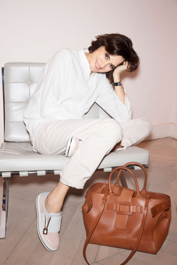 Ines de la fressange life lessons emirates woman - Ines de la fressange filles ...