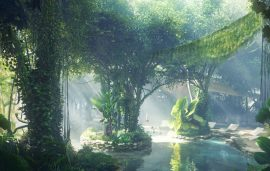 Here's Your First Peek At Dubai's Rainforest Hotel