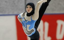 Meet The Ice Princess In A Hijab Determined To Make UAE History