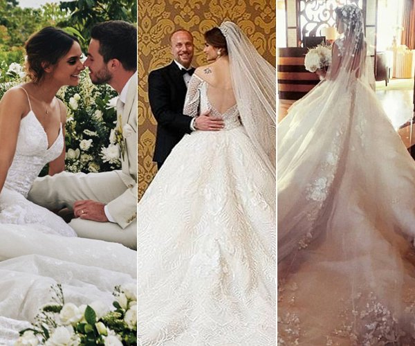 Bridal Gowns Kuwait : Dubai designer michael cinco s wedding dresses are