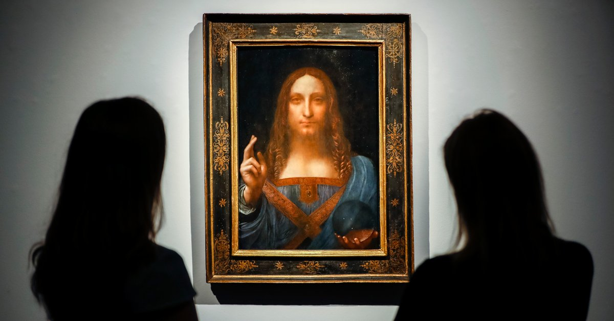 The world 39 s most expensive painting is coming to the for What is the most expensive painting