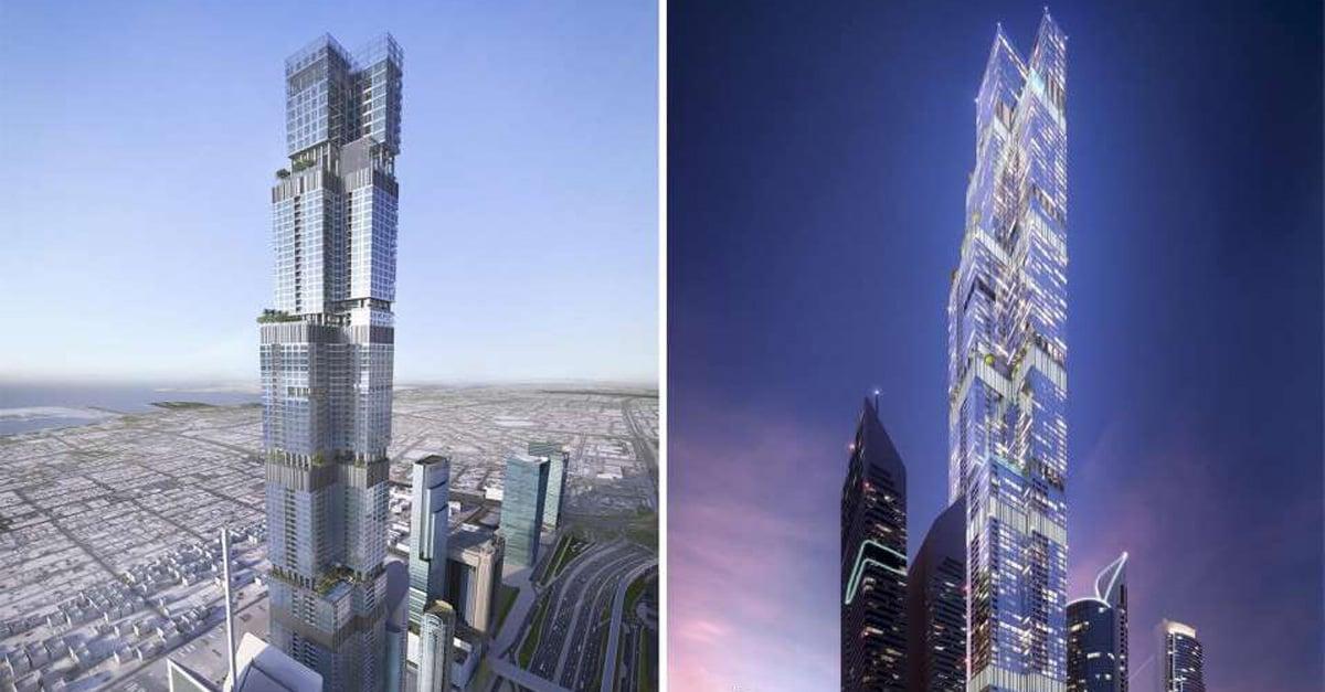 Dubai is getting another huge skyscraper...