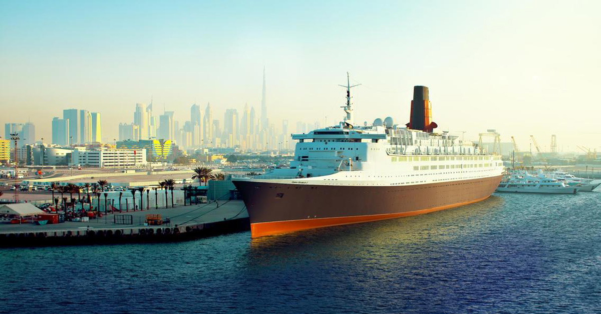 QE2: See inside the Queen Elizabeth II in its new life as a Dubai hotel