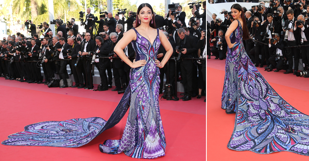 This might be Aishwarya Rai's greatest-ever red carpet look...