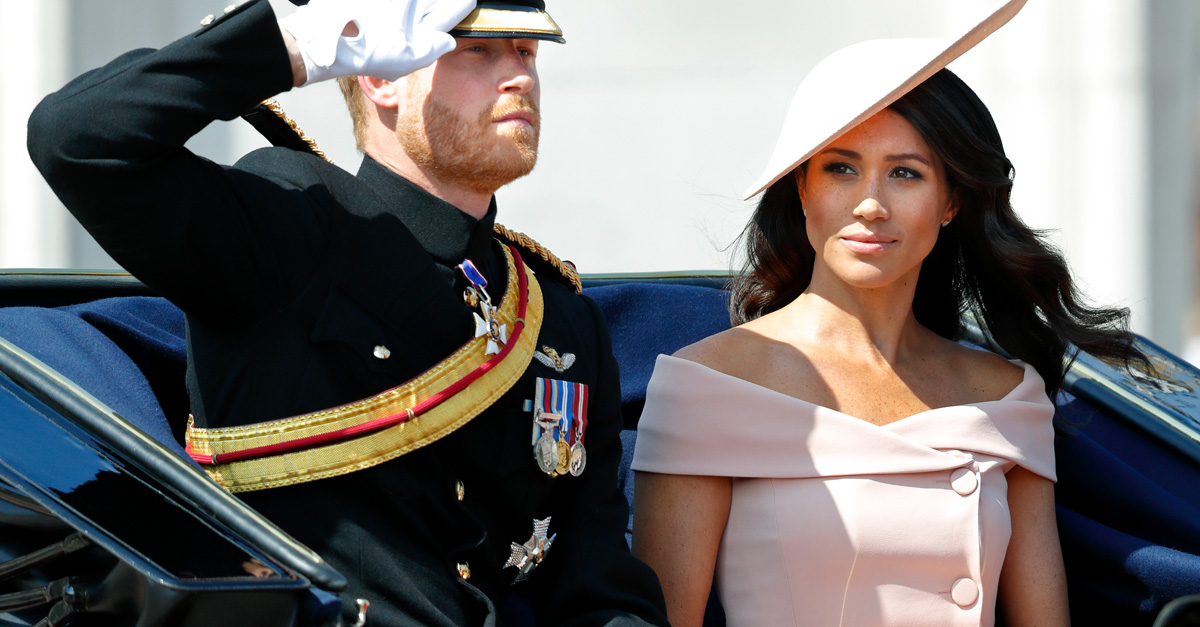 What Meghan Markle wore to celebrate the Queen's birthday