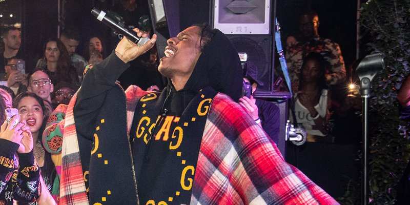 ASAP Rocky jets into Dubai for epic Gucci party – Emirates Woman