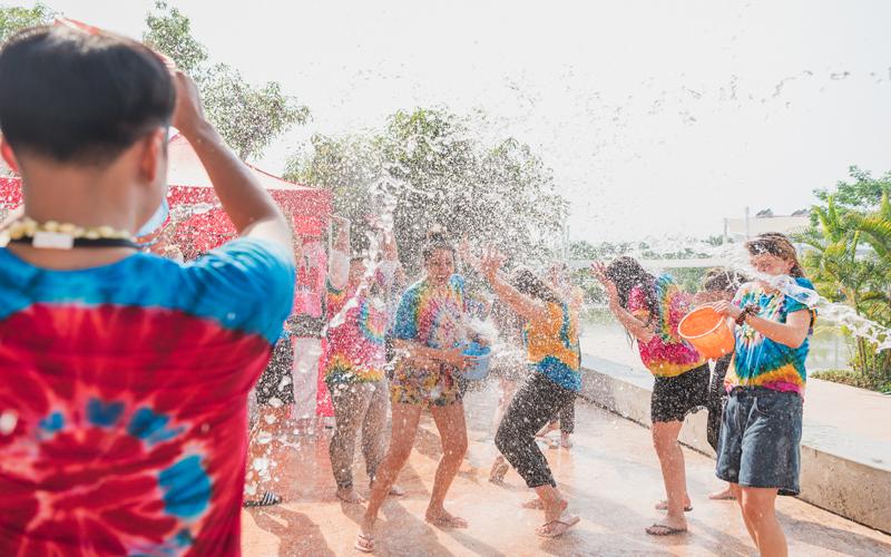مهرجان سون كران تايلاند باندورا
