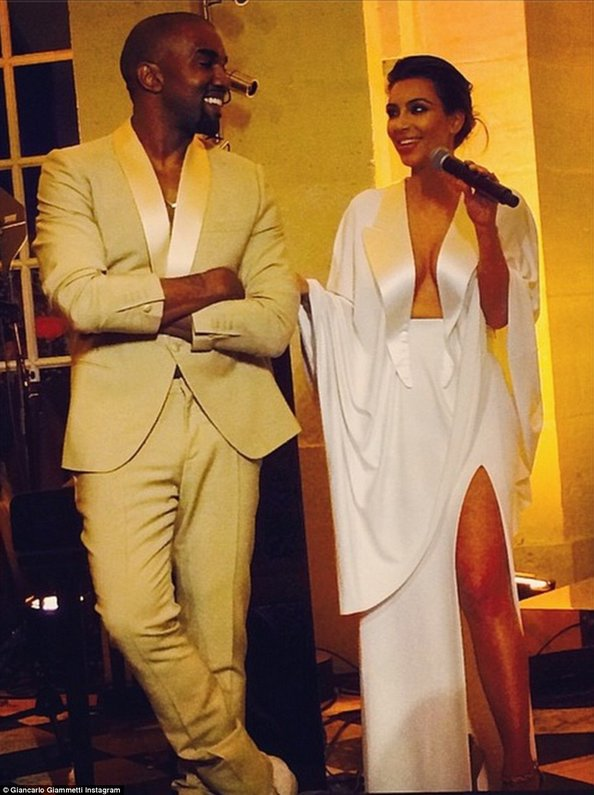 Kim And Kanye Wedding Party Emirates Woman