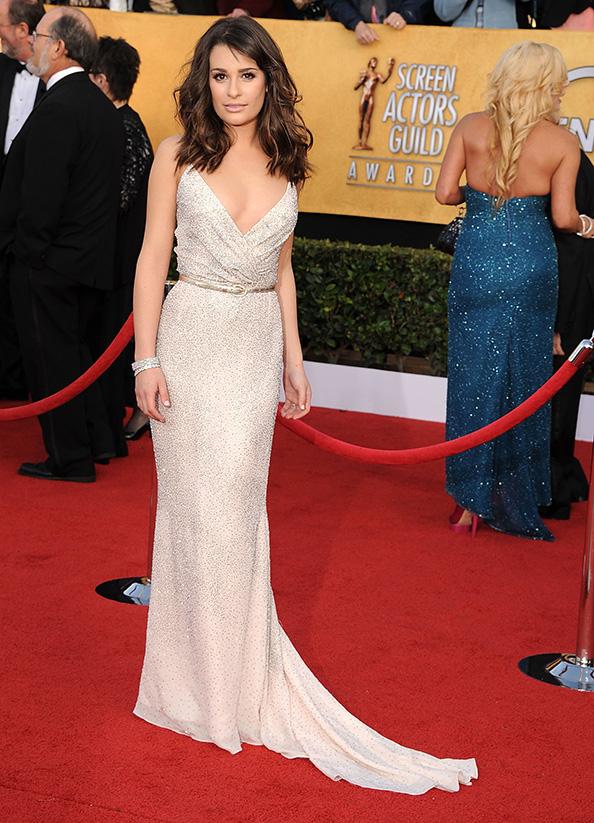 Oscar de la Renta Lea Michele