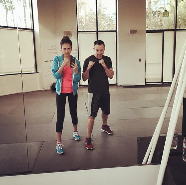 Jessica Alba, Diet, fitness