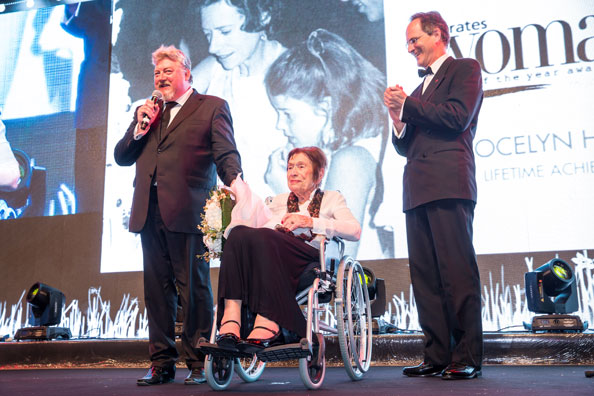 Lifetime Achievement Award winner Jocelyn Henderson