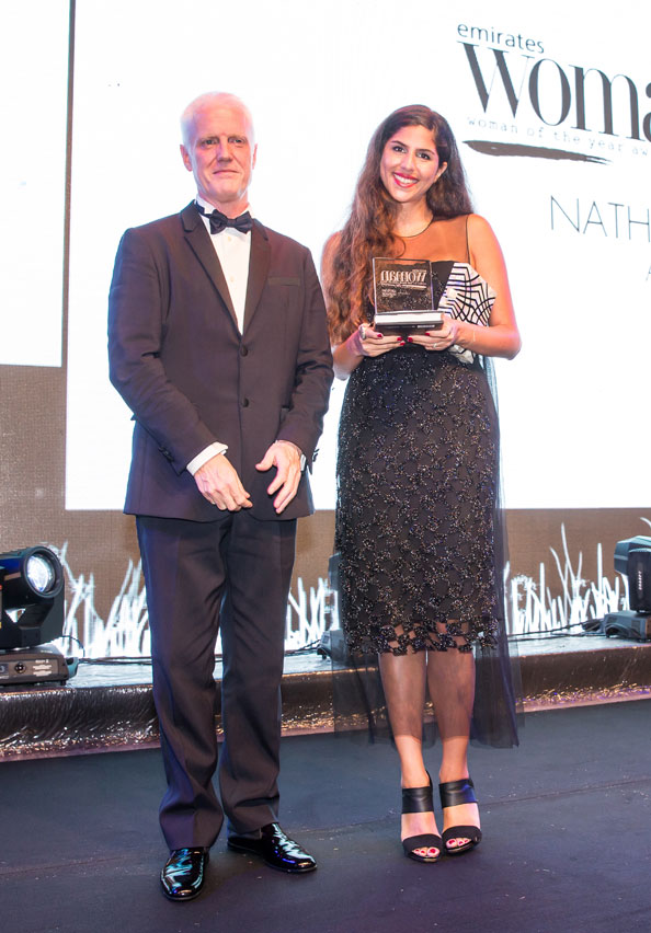 natalie trad, Emirates Woman Woman Of the Year 2014