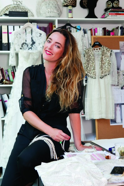 Alice Temperley in her office