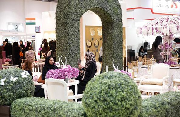 VIP Tea Garden, BRIDE Show Abu Dhabi
