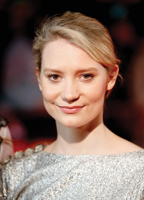 Mia Wasikowska, International Women's Day