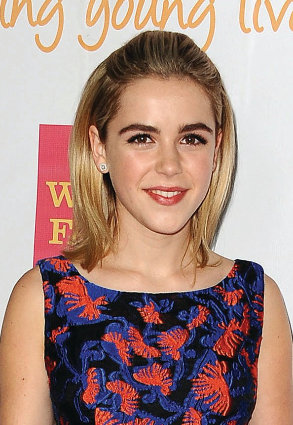 Kiernan Shipka, International Women's Day
