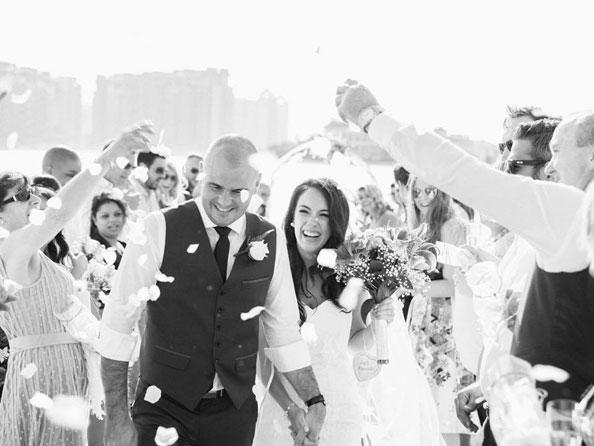 real wedding tara and chris jones