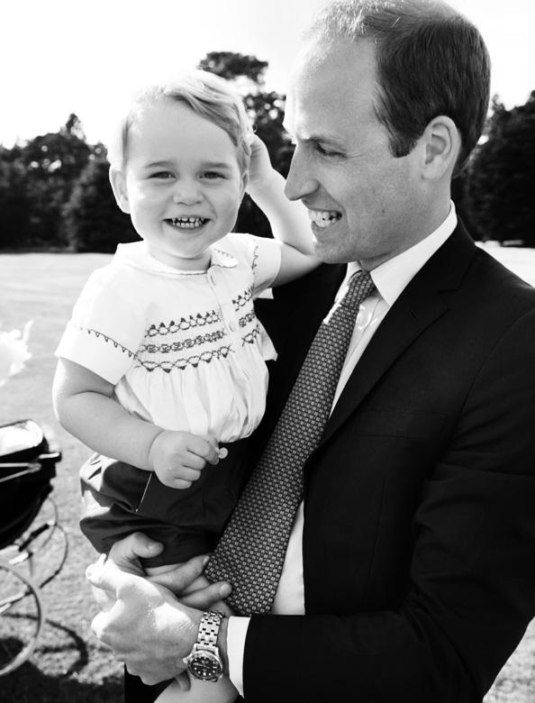 Princes William Prince George