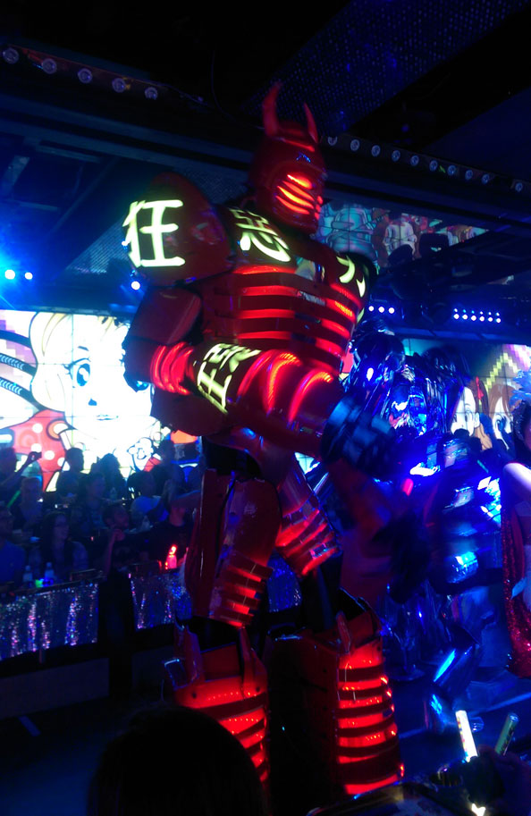 Robot Cafe Tokyo City Guide