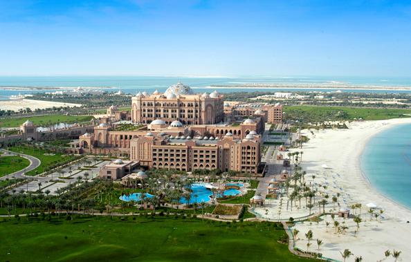 Emirates Palace - Exterior Beach