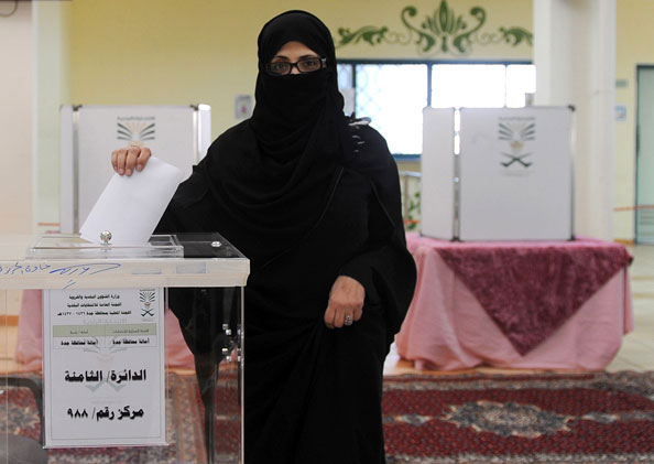 Saudi Arabia Women Voted For the First Time