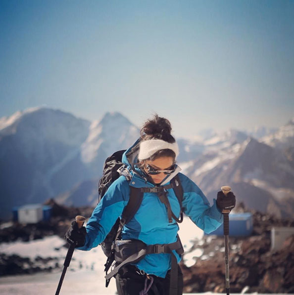 Raha Moharrak, Burberry, Saudi Woman To Climb Everest