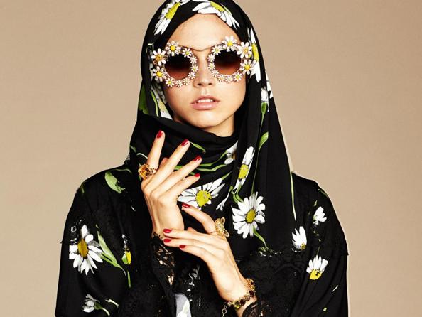 dolce gabbana hijab abaya