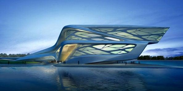 Abu Dhabi Performing Arts Centre zaha hadid