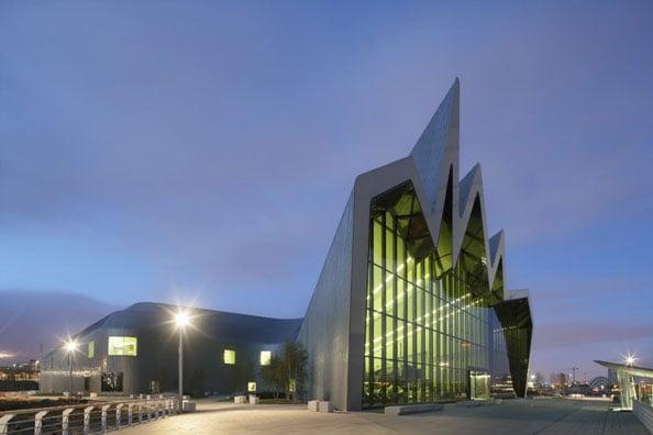 zaha hadid Glasgow Riverside Museum Of Transport