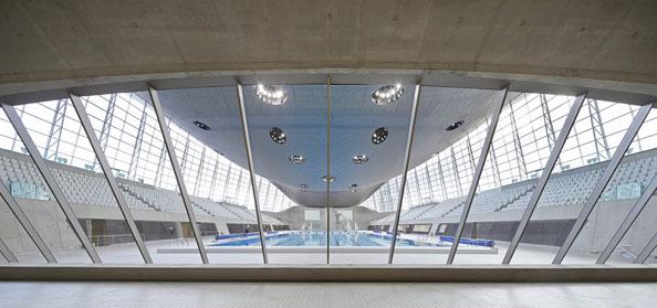 London Olympic Aquatics Stadium Zaha Hadid