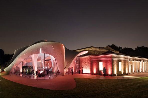 zaha hadid Serpentine Sackler Gallery