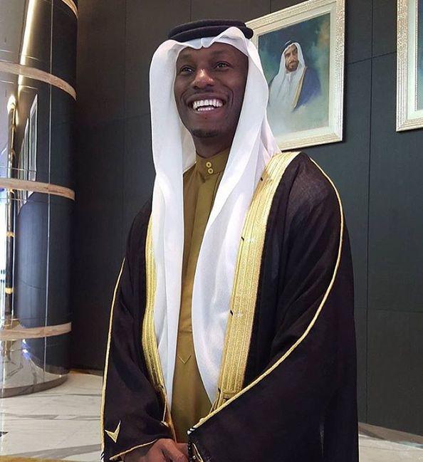 Tyrese Gibson Dubai