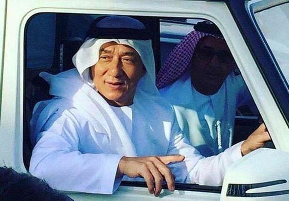 Jackie Chan Dubai