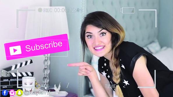 hayla tv hayla ghazal beauty tips