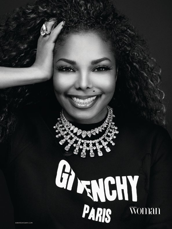 Janet Jackson cover story