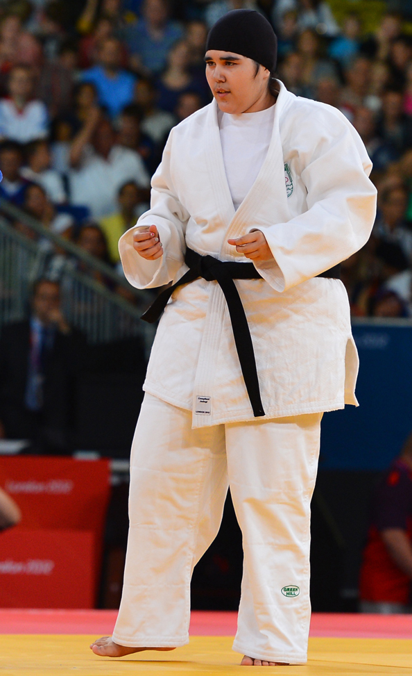 Wujud Fahmi Saudi Arabia olympics