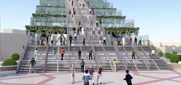 dubai steps