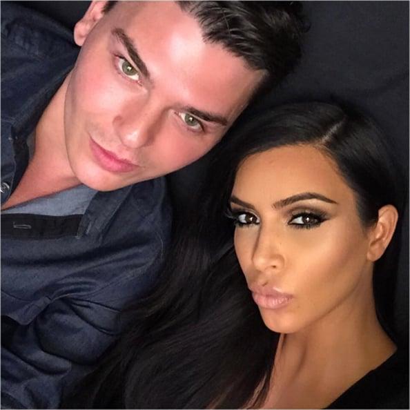 0 kim kardashian and Mario Dedivanovic,