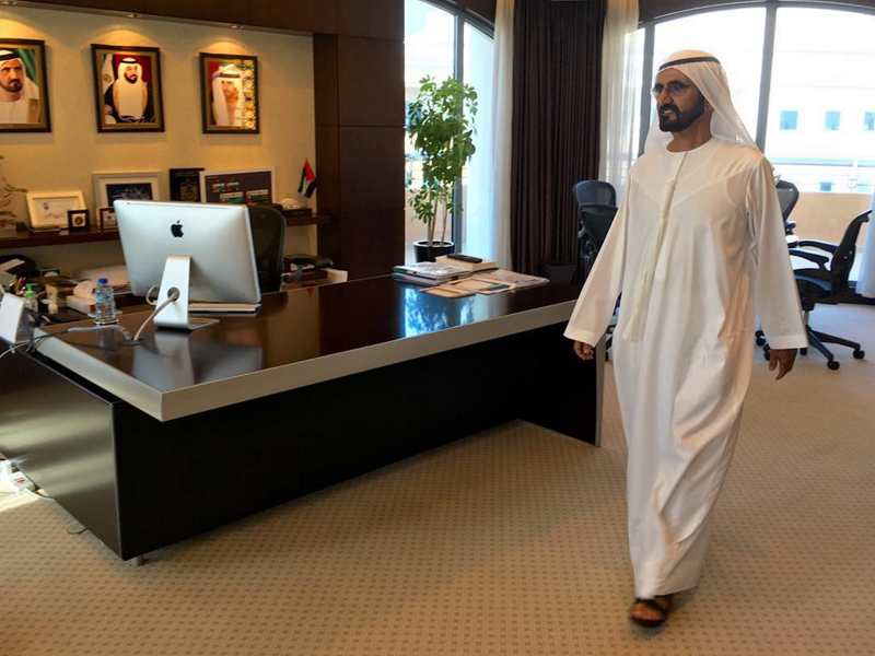 sheikh mohammed office