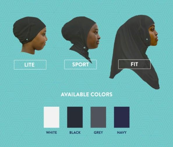sports hijab